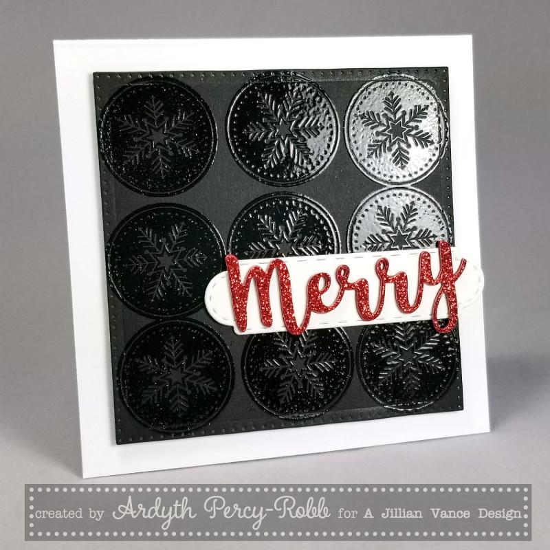 Last-minute Christmas Cards, Ajillianvancedesign