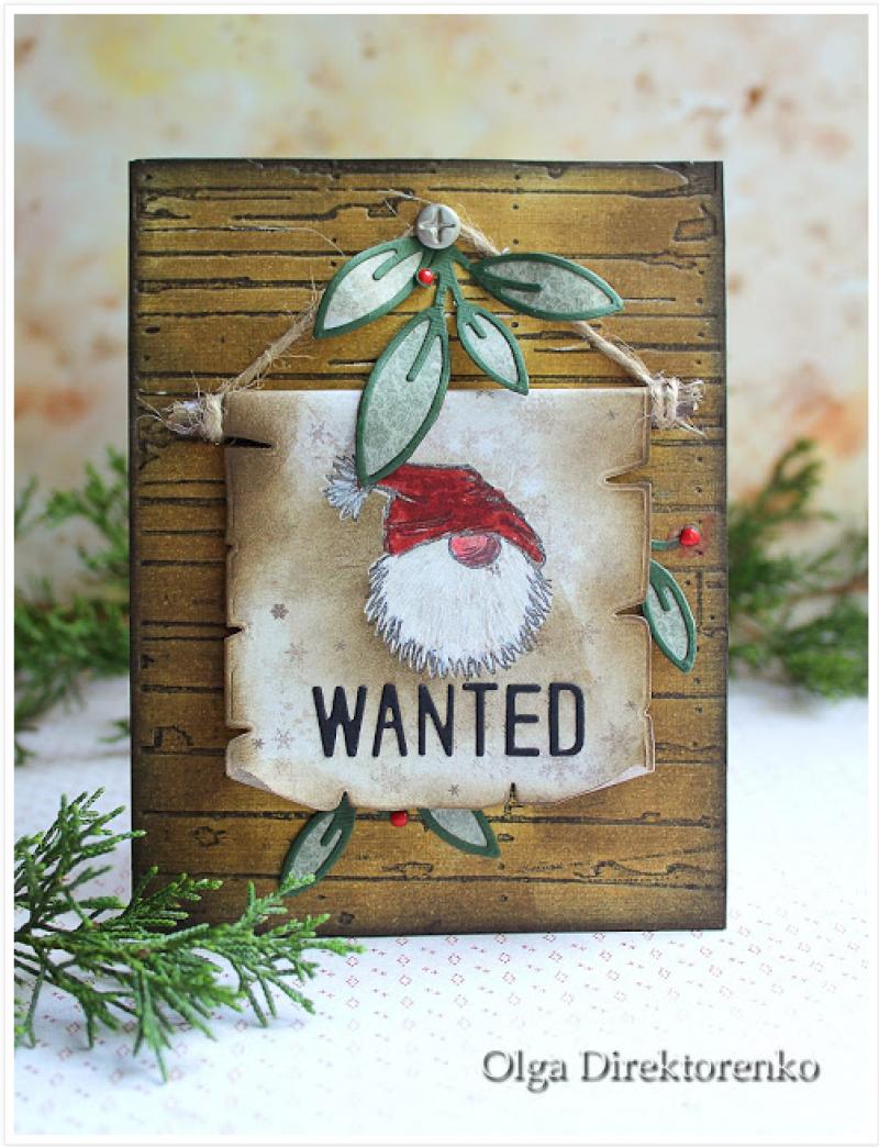 Wanted Santa by Olga Direktorenko
